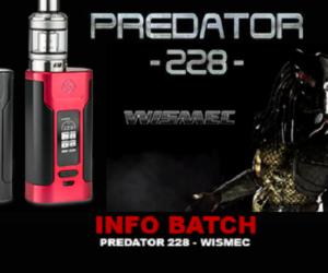 Wismec Predator 228W + Elabo Tank